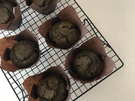 Matcha Muffins | #BakewithJackie