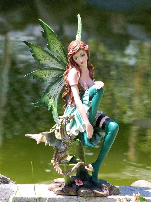 Fée Fabiola et son dragon