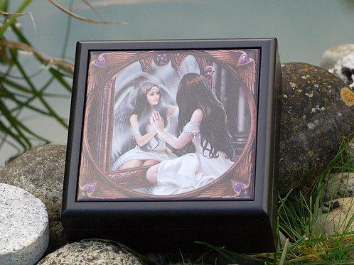 Boîte en bois Magic Mirror