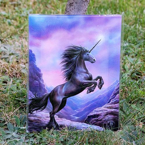 Toile Black Unicorn