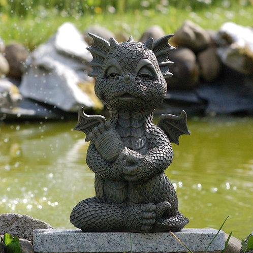 """Dragon de jardin """"Yoga"""""""
