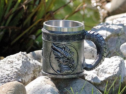 Chope dragon gris
