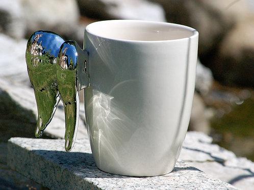 Mug ailes d'ange silver