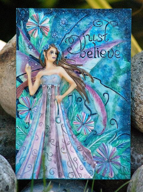 """Plaque murale """"Just Believe"""""""
