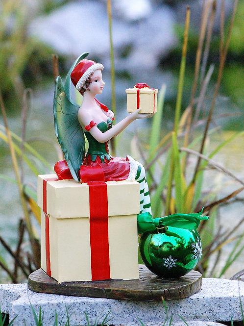 Fée Viviana sur un cadeau
