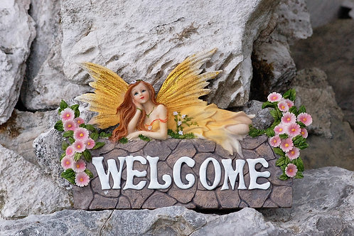 Applique Welcome's Faerie