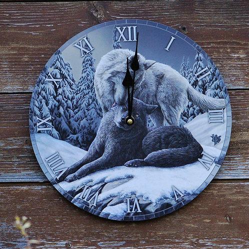 Horloge Snow Kisses