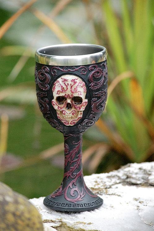 Oriental Skull Gobelet