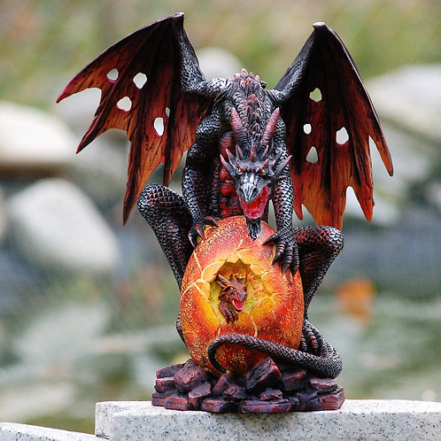 Dragon Dallarth et son petit