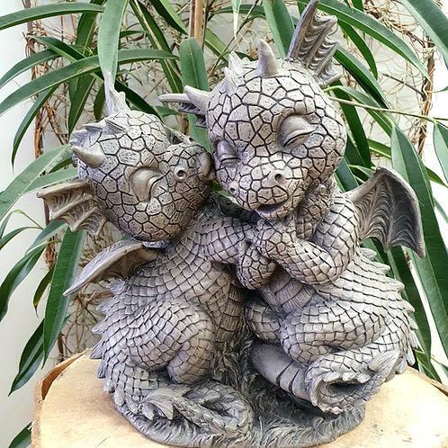 Dragons de jardin Paco et Nina