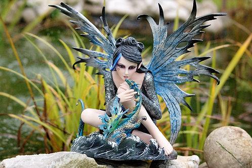 Fée Cara et son dragon d'eau