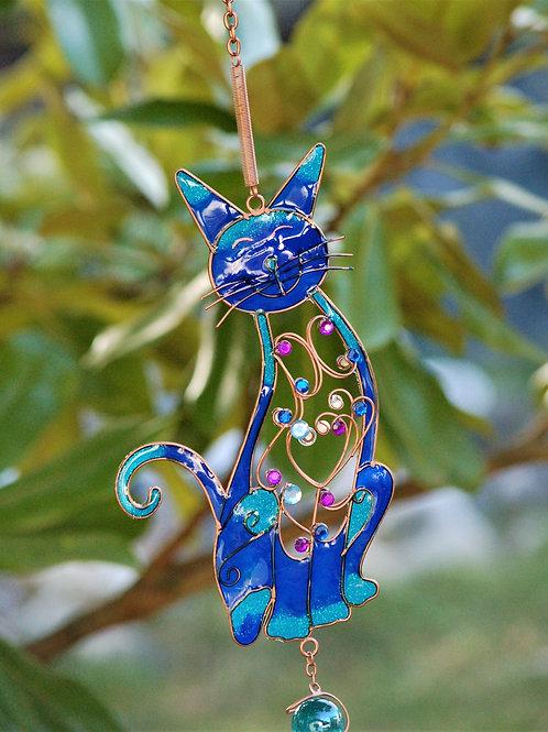 Carillon Blue Cat