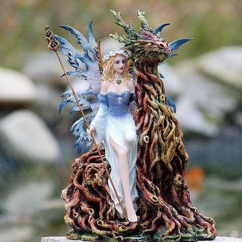 Fée Karelle et son dragon-arbre