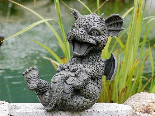 Dragon de jardin rieur