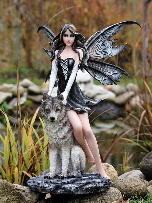 Fée Melisandre avec son loup