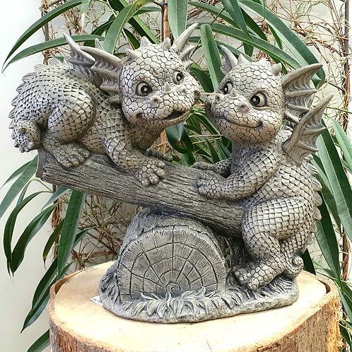 Dragons de jardin Tom et Ben