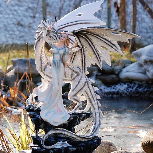 Dragon Galiad et la princesse blanche
