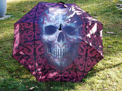 "Parapluie ""Oriental Skull"""
