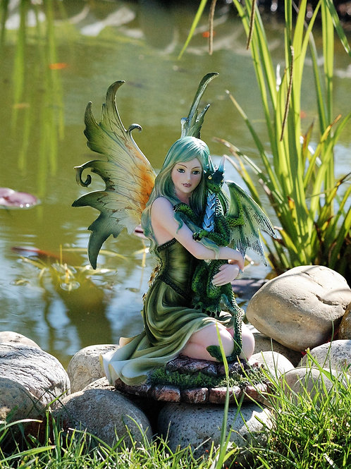 Fée Nyx et son dragon