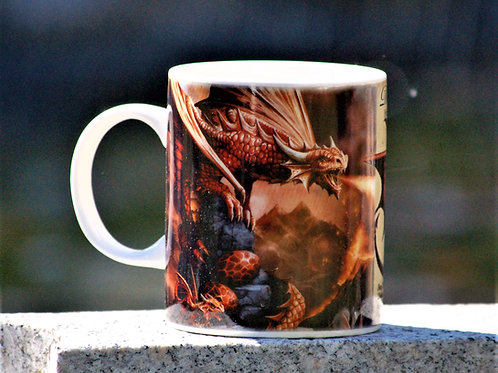 Mug Fire Dragon