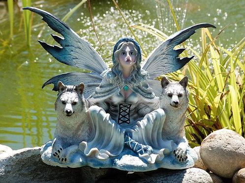 Fée Bédélia et ses 2 loups
