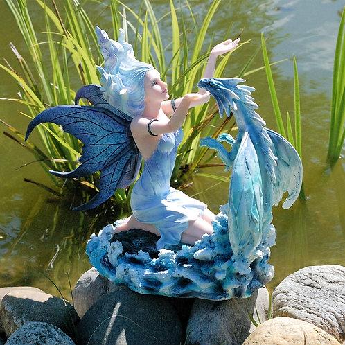 Fée Nerida et son dragon