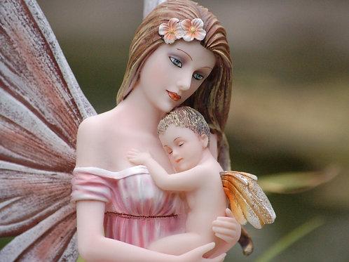 Fée Cora et son bébé