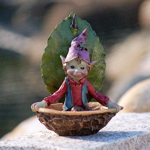 Pixie dans sa coque de noix
