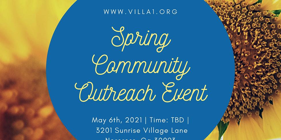 Spring Community Outreach Event