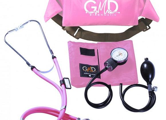 Kit de Tensiómetro y Fonendoscopio Rappaport con Canguro GMD