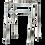 Thumbnail: Caminador Sencillo Paso a Paso una Barra Color Plateado óAzul ó Bronce