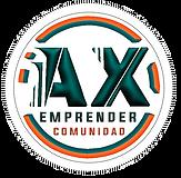 Logo Emprender AX 3D Actualizado OK Rede