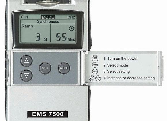Electroestimulador Ems Digital 7500 Atrofia Desgarres Musculares