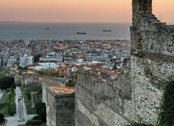 Kastra- Walls of Thessaloniki