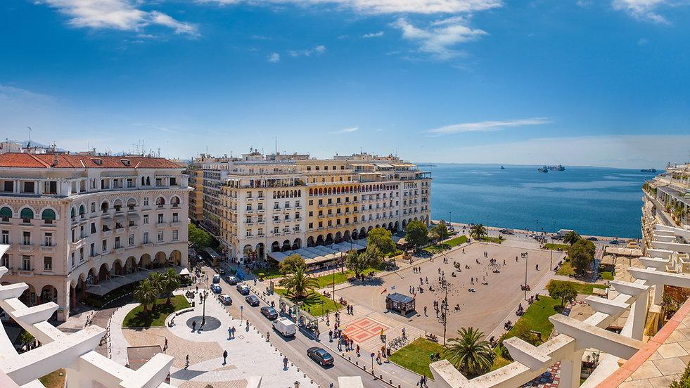 The city of Thessaloniki