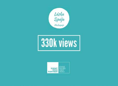 Láska spojila 330.000+ views