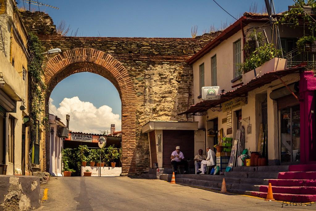 Upper Town of Thessaloniki