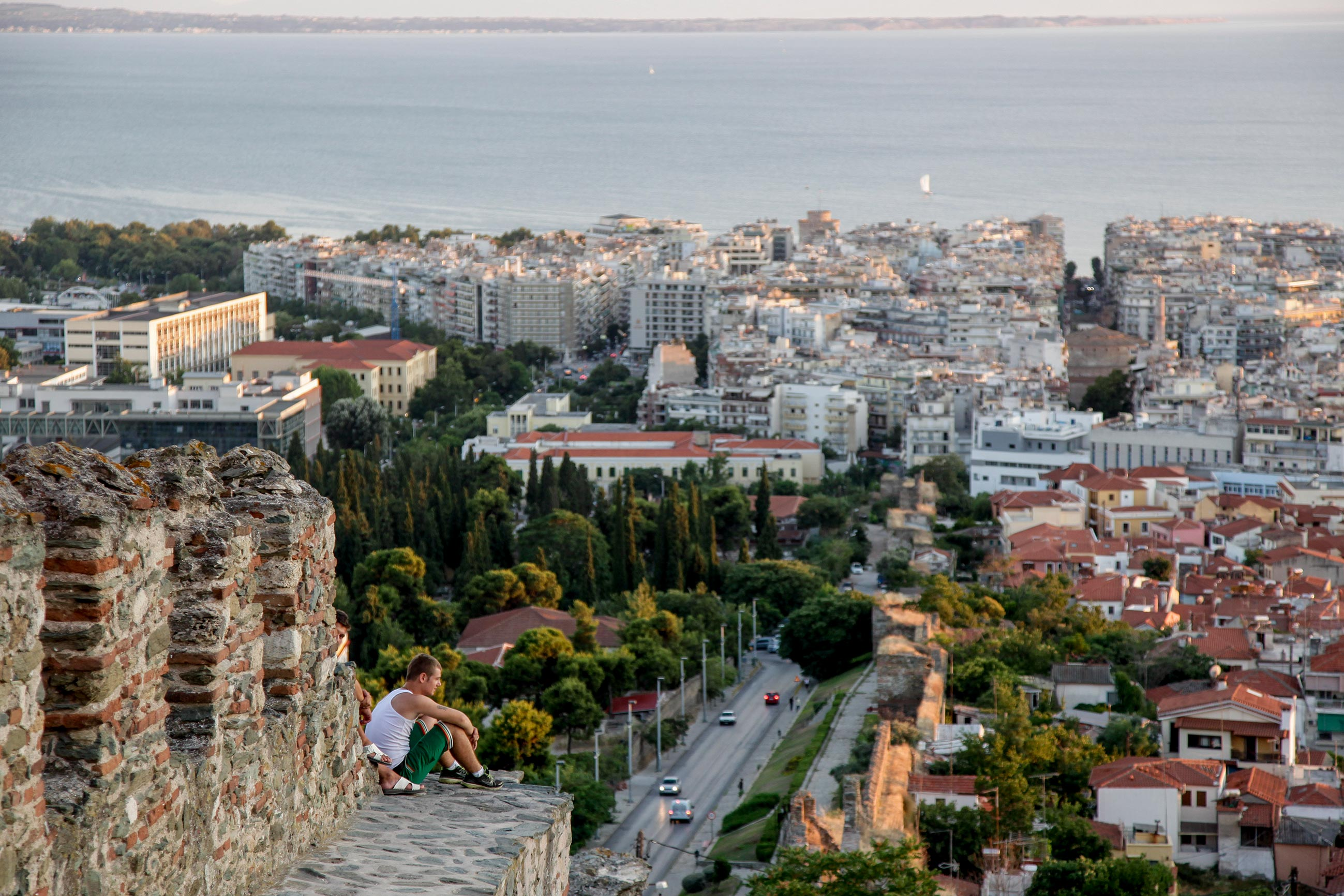 Kastra -Walls of Thessaloniki