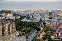 Kastra -Walls of Thessaloniki