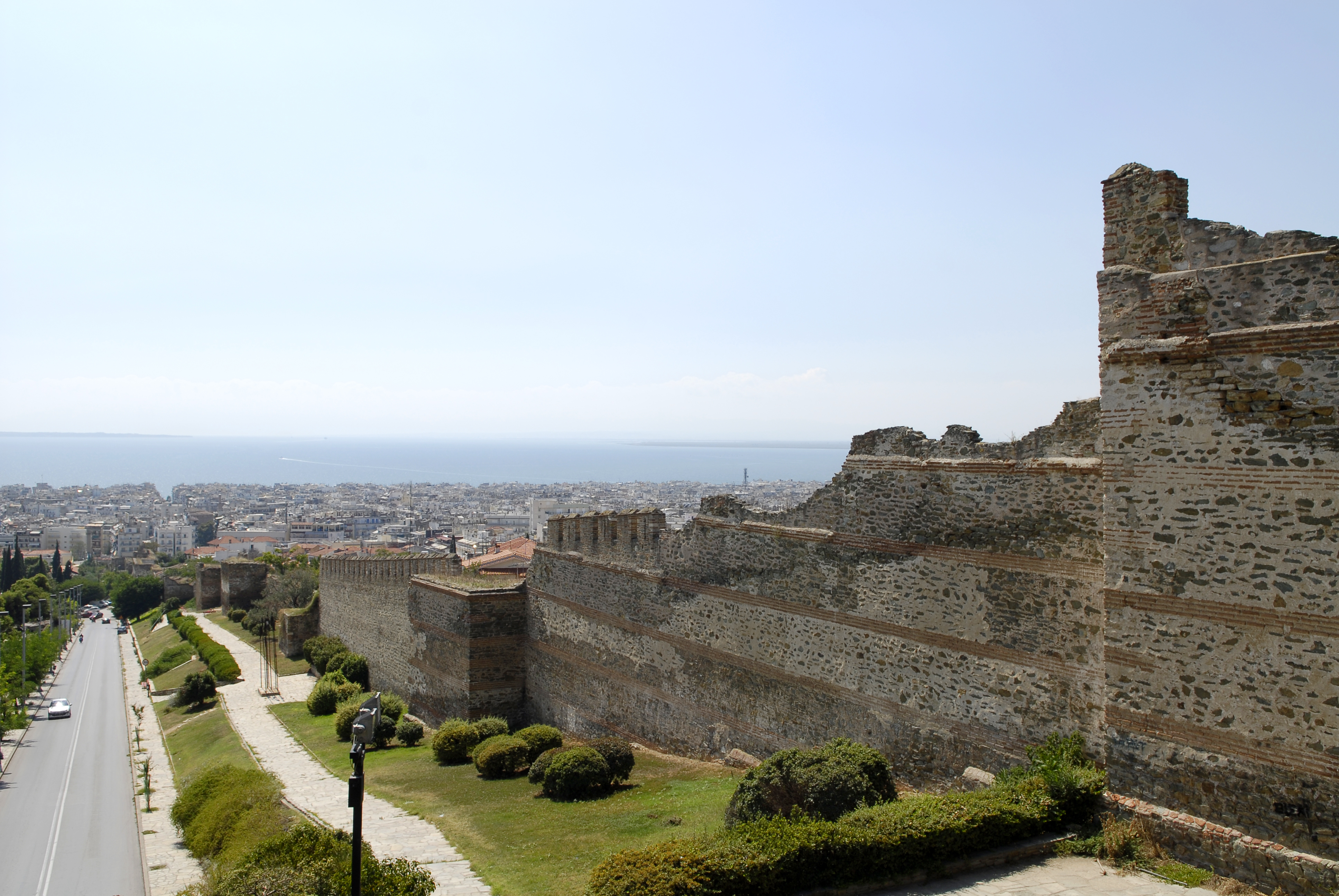 (Kastra) Walls of Thessaloniki