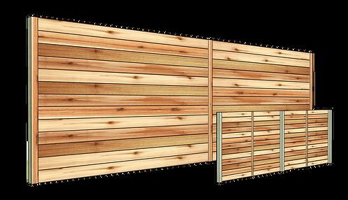 Horizontal Cedar Privacy