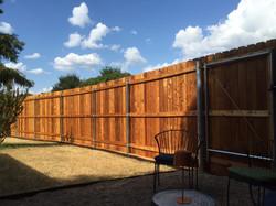 Cedar Privacy Fence Austin
