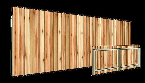 Vertical Cedar Privacy