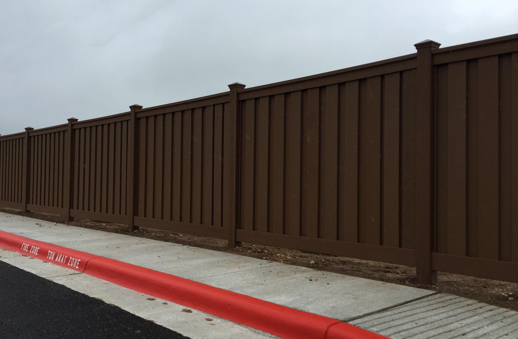 Composite Fence Austin