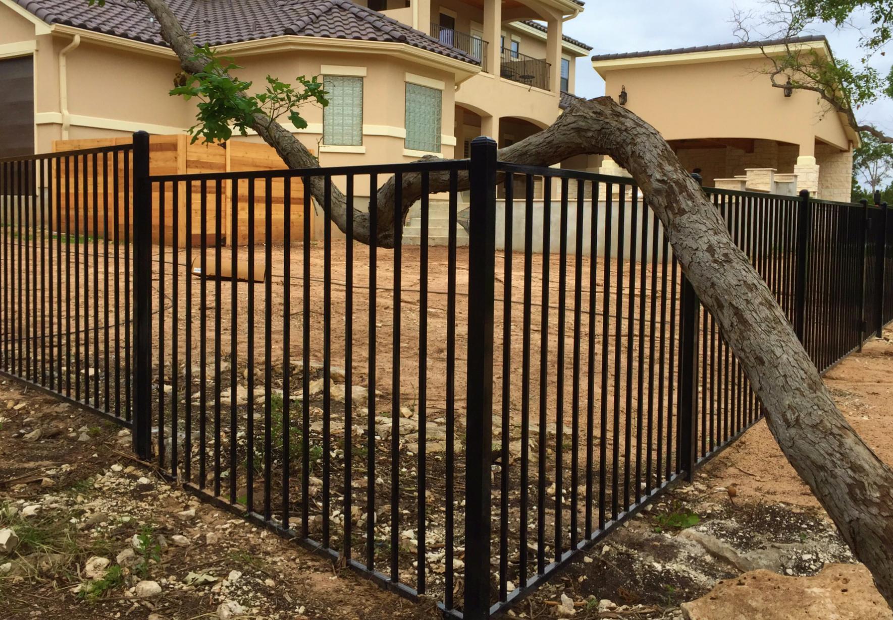Iron Fence Austin