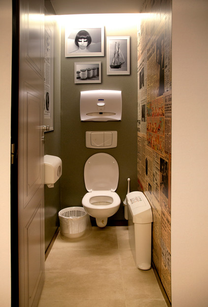 Wall graphics - toilets