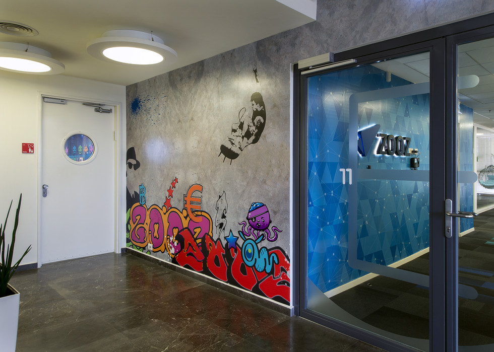 Wall graphica - lobby
