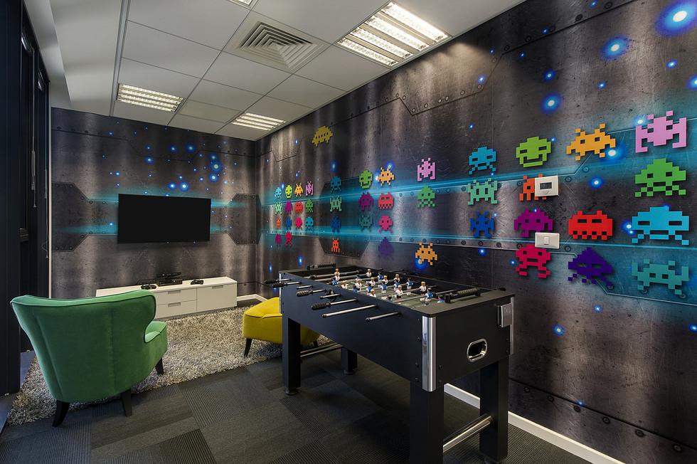 Wall graphica - fun/recreation