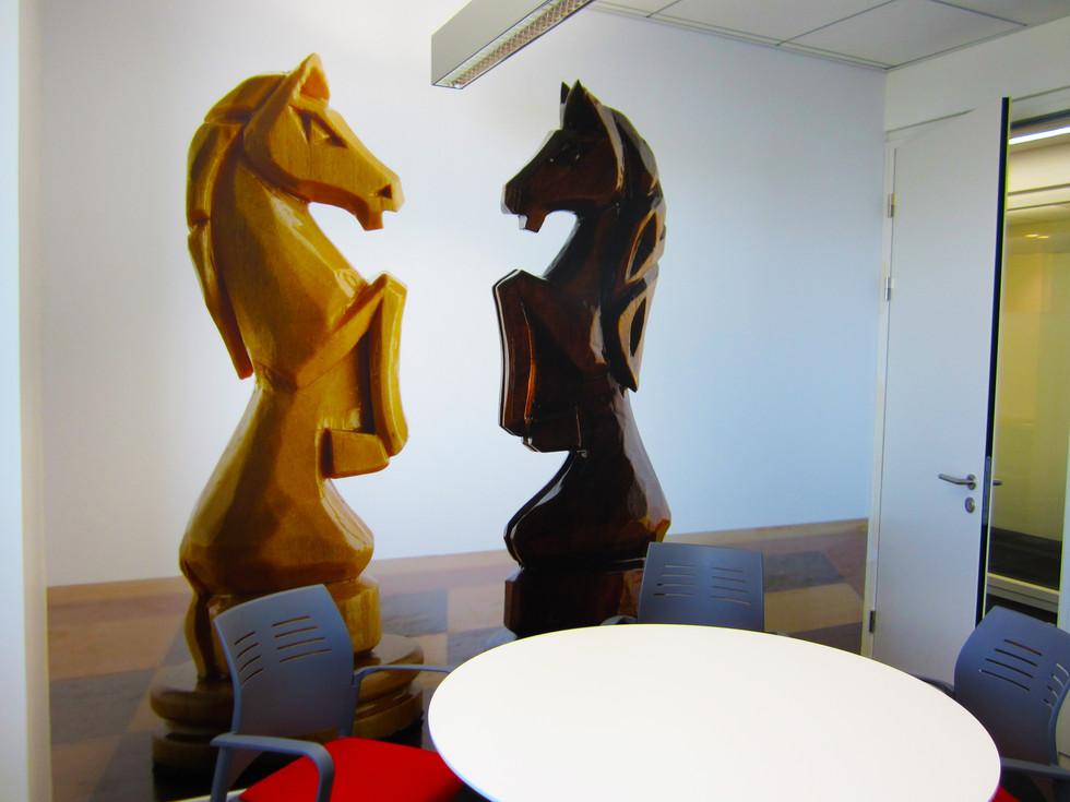 Wall graphics - meeting room