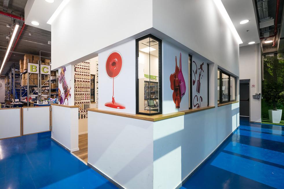 wall graphics - meeting area